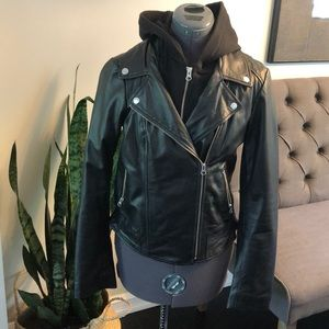 Jackets & Blazers - Genuine leather moto jacket